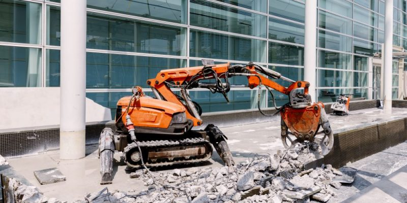 Cobots In The Construction Sector.