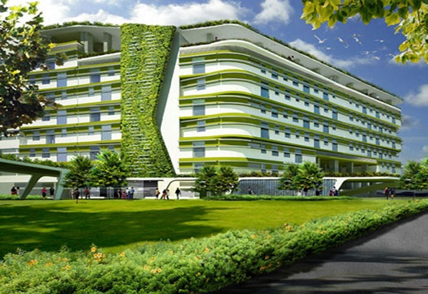 Image Represnting The Concept Of Materials Required For Green Building.
